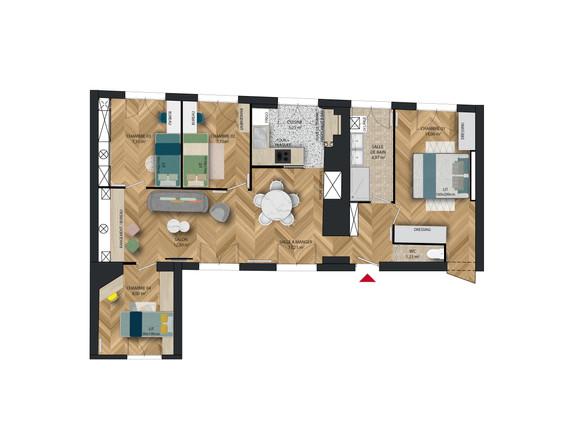 Appartement Lemoine