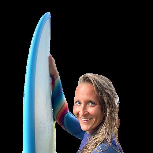 Sabrina Schneider ist Unternehmerin und Surferin