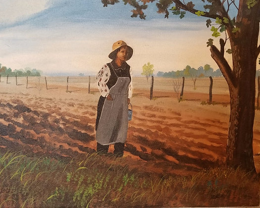 Sowing Time - David Woods