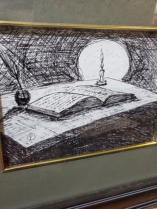 Poe's Study