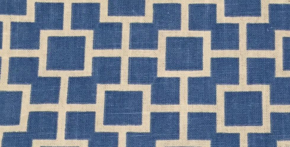 Blue Square Geometric