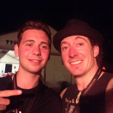 Paige With Laurence Jones