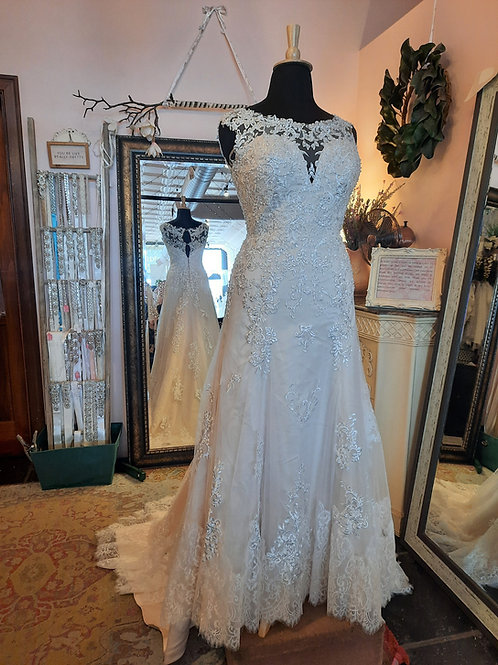 Dress 2500-14 Label Size 14 Fits 14