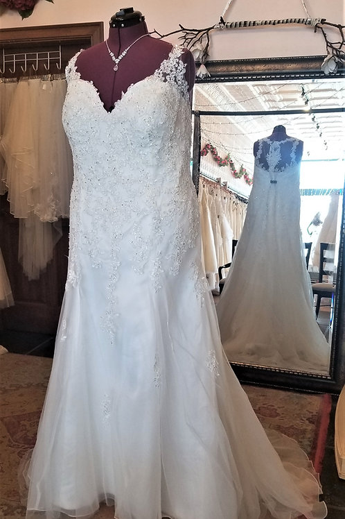 Dress 2031 Label Size 26 Fits 26