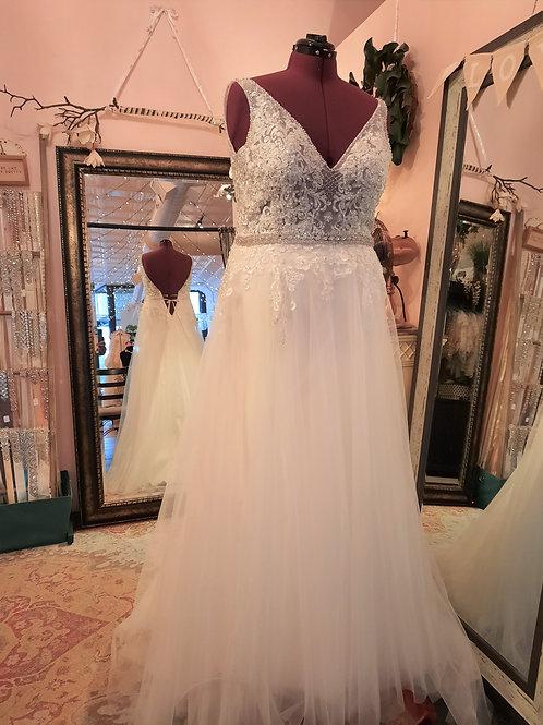 Dress 2128 Label Size 16W Fits 16W