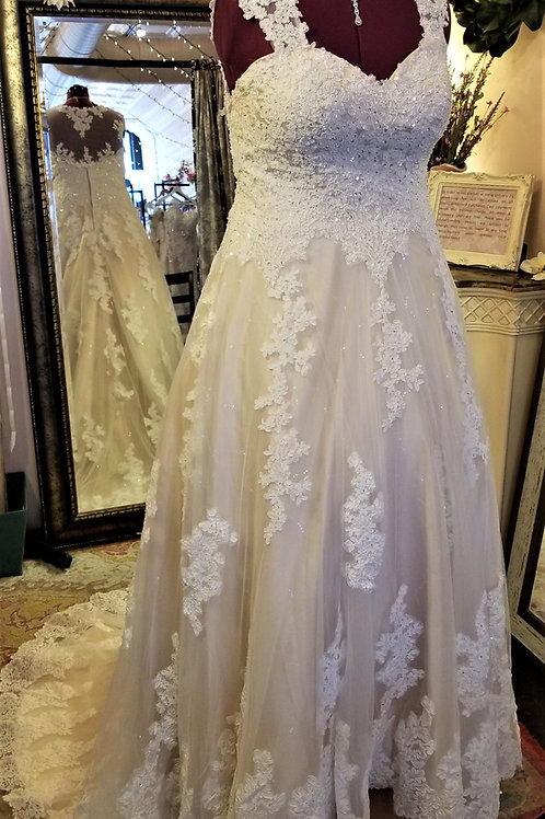 Dress 1100-20 Label Size 20 Fits 20 $699
