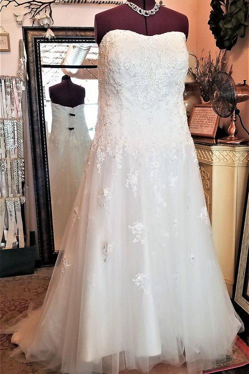 Dress 1639 Label size 26 fits 24/26/28