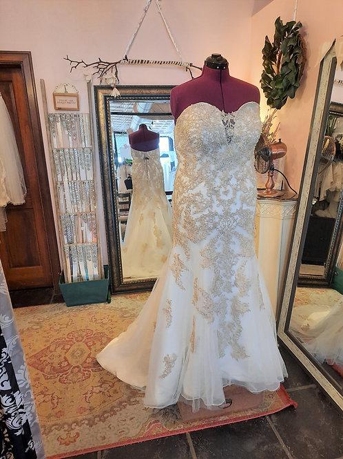 Dress 2078 Label Size 20 Fits 20