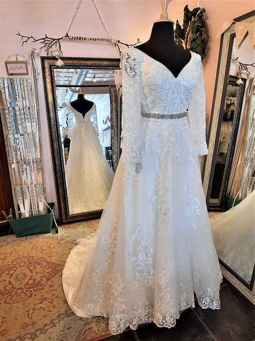 Dress 2266 Label Size 14 Fits 14