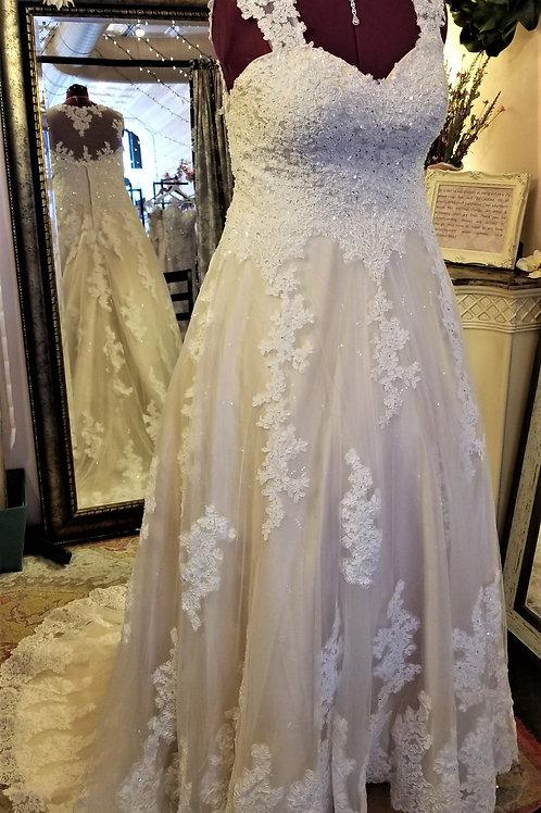 Dress 1100-16W Label Size 16 W Fits 16W