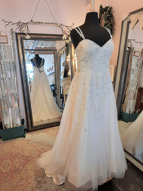 Dress 2291 Label Size 22 Fits 22