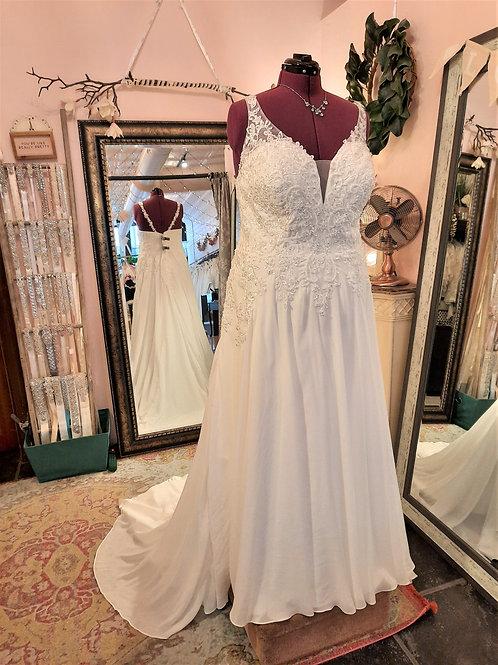 Dress 2000-26 Label Size 26 Fits 26/28