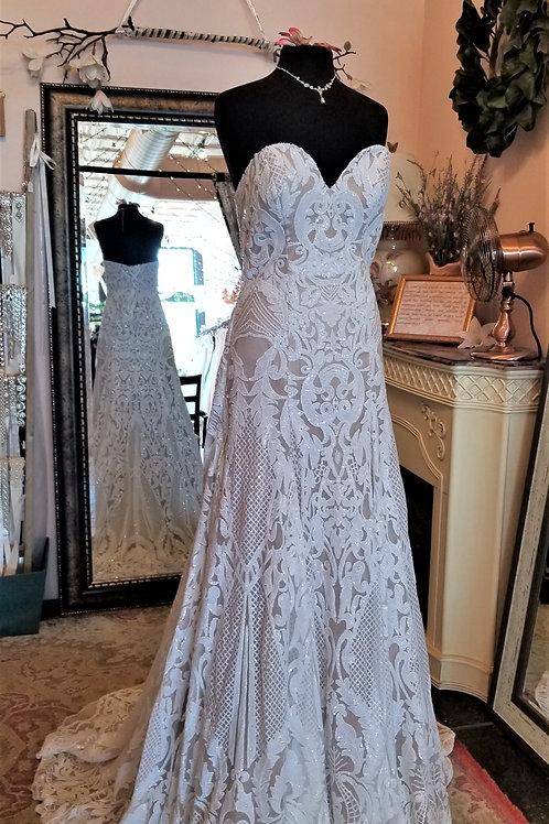Dress 1600-12 Label Size 12 fits 10/12/14