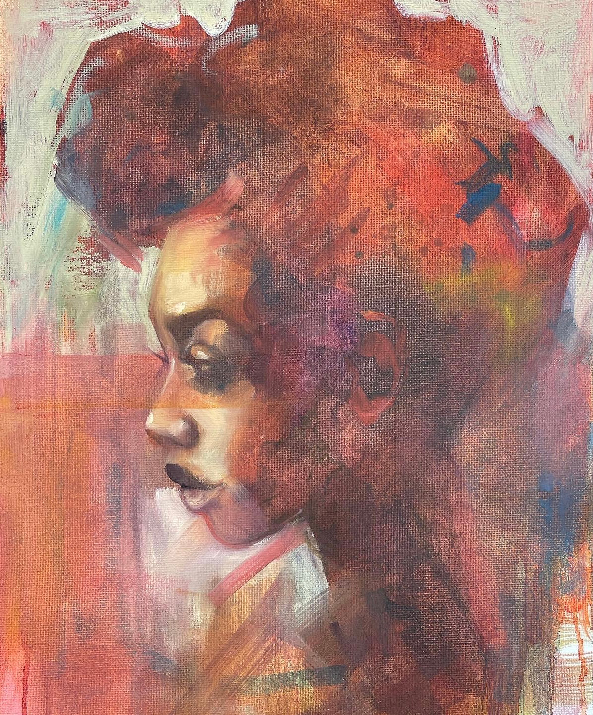 Contemporary Portrait Painting in Oil