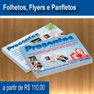 Folhetos, Flyers e Panfletos