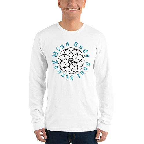 Mind Body Soul Comfy Unisex Long sleeve