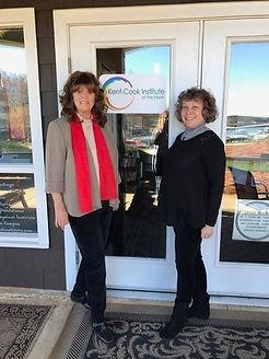 Heidi Kent and Marsha Cook at The Nook ~ Davidson