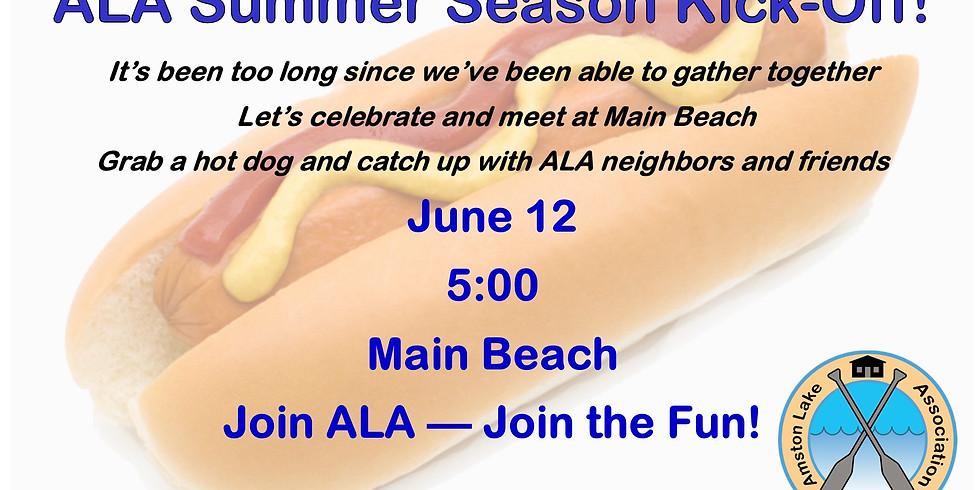 ALA Summer Season Kick Off