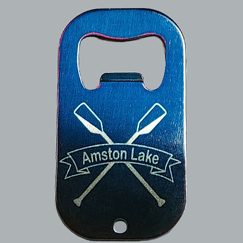 Amston Lake Bottle Opener Key Chain