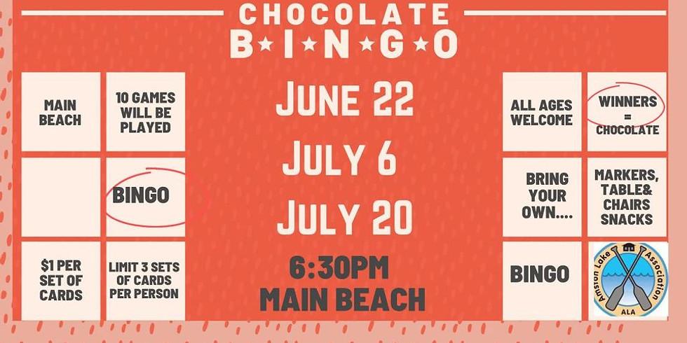 Chocolate Bingo - Tonight!
