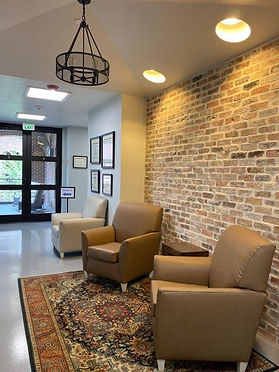 South Texas Skin Cancer Center waiting area Broadway location.