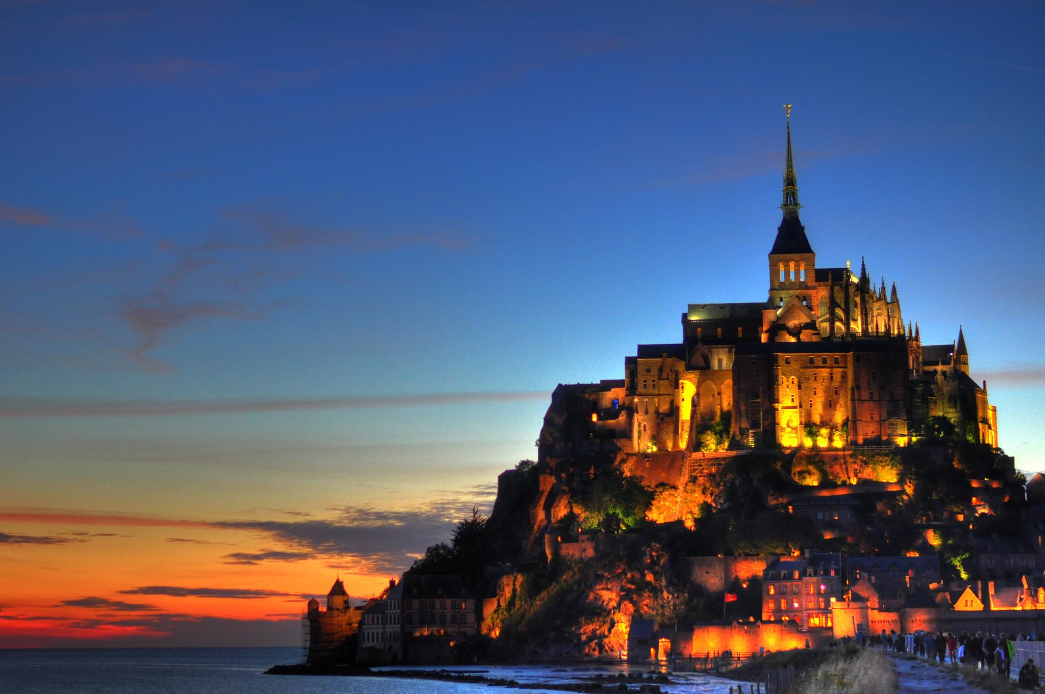 El Mont Saint Michel con bicicleta