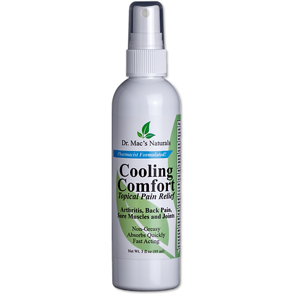 Cooling Comfort Topical Pain Relief