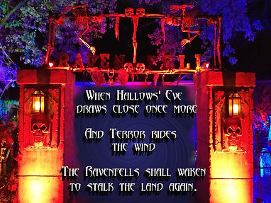 The gates of Ravenfell Manor
