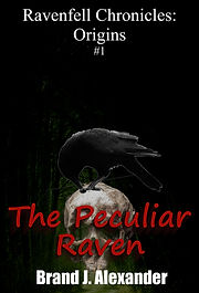 The Peculiar Raven Cover
