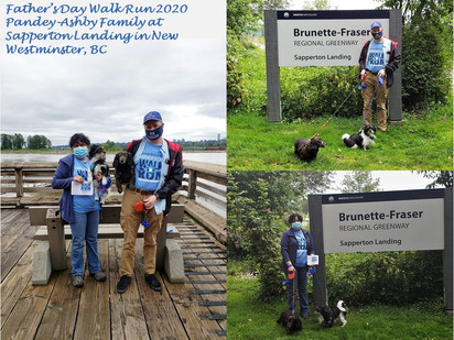 Pandey-Ashby Family Father's Day Walk-Ru