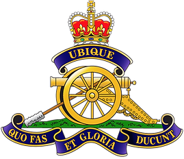 Armed Forces 15th Field Gun Badge Logo 0