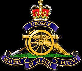 Armed Forces 15th Field Gun Badge Logo 0