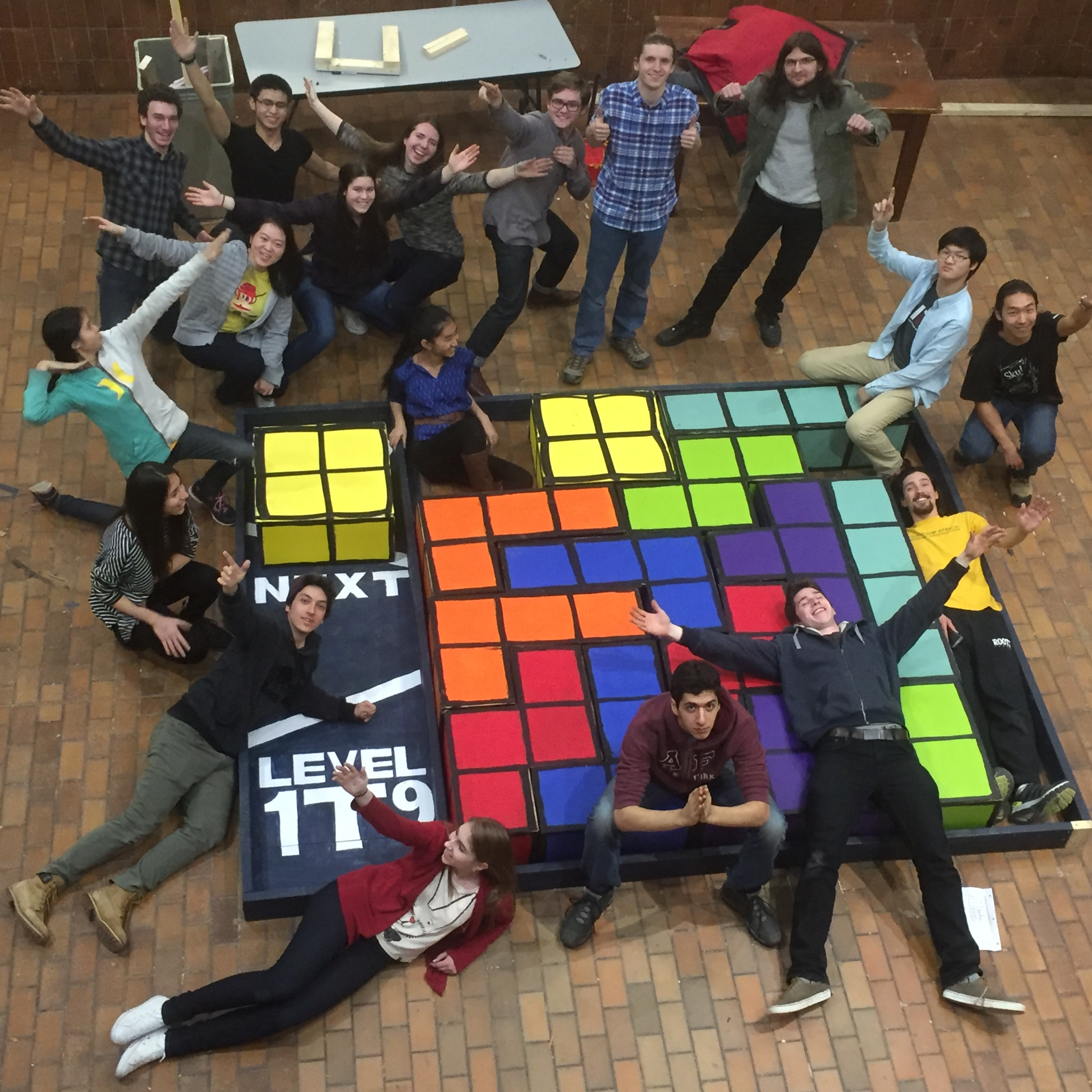 GIANT TETRIS GAME