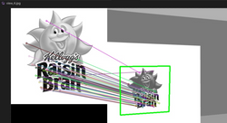 Visualization of SURF Algorithm