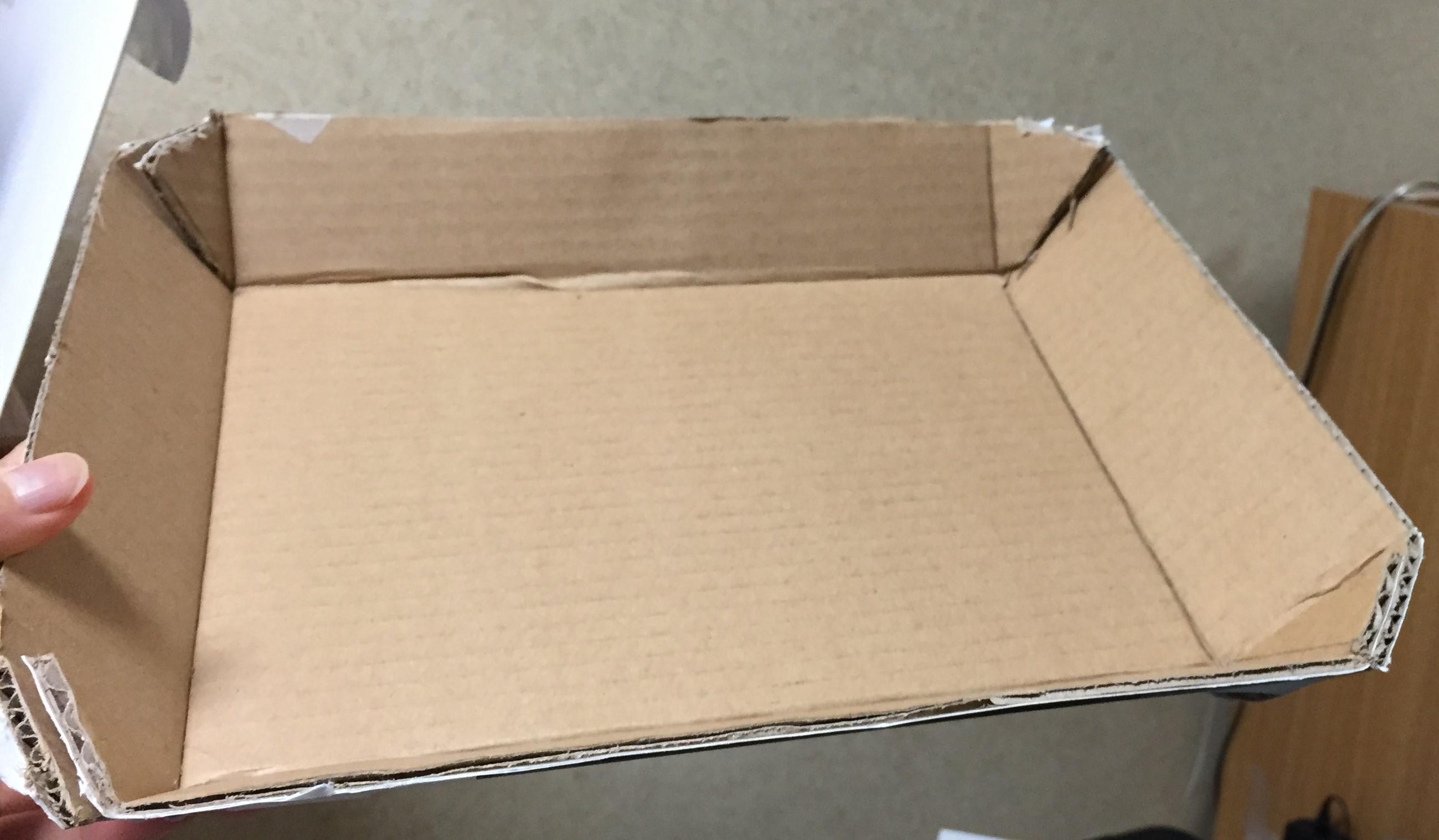 Cardboard prototype 1