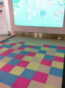 Reference: Pressure sensitive floor