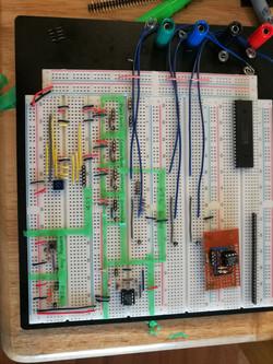 Breadboard circuit prototypes