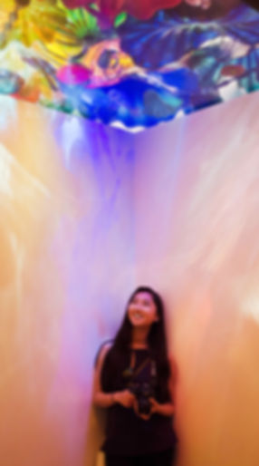 Me at the Chihuly Garden and Glass Museum in Seattle.