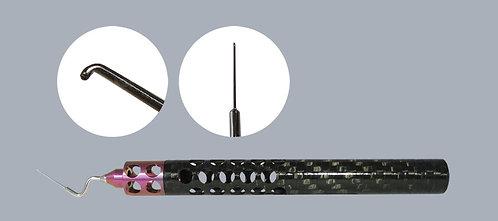 6-S™ Sinskey Hook, Angled, Carbon Fiber Handle