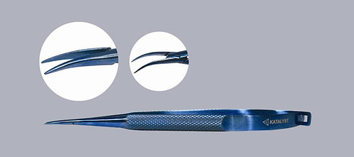Side Curved Needle Holder