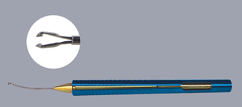 ISOCLEAN™ MICS Capsulorhexis Forceps, Cystotome Teeth