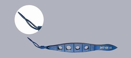 Lens Implantation Forceps Reverse Cross-Action