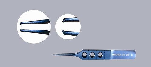 Straight Castroviejo Suturing Forceps, 1 x 2 teeth, 5mm Tying Platforms