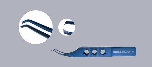 Colibri Suturing Forceps, 1 x 2 teeth, .12mm Teeth With Tying Platforms
