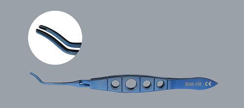 Scleral Plug/Cannula Forceps