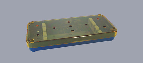 Instrument Tray, Slotted Bar