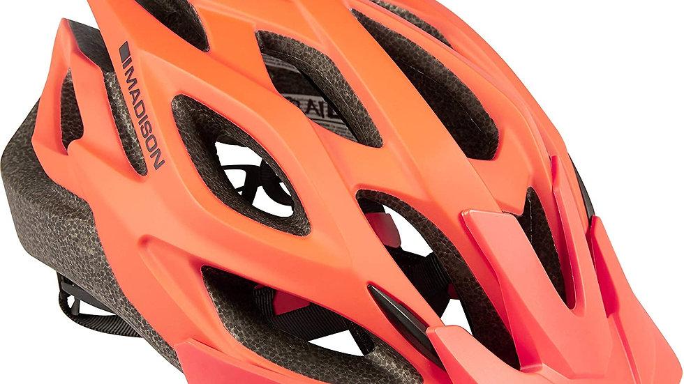 Madison Trail Helmet. Red. In medium.