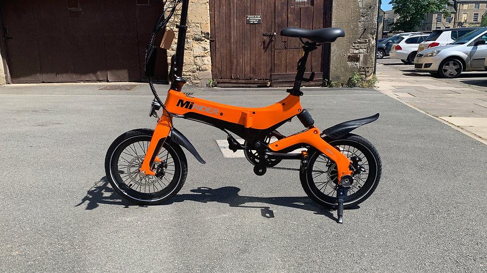 MiRiDER Foldable e-bikes.