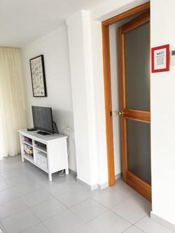 Door to bedrooms