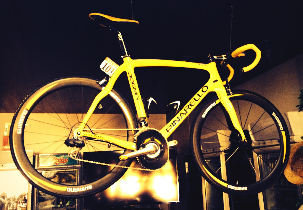 Wiggo's winning bike found in Tolo's